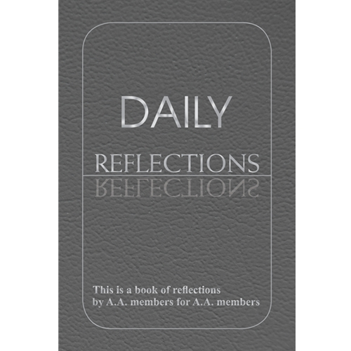 Daily Reflections (Large Print Soft Cover)