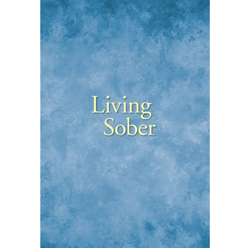 Living Sober (Large Print Soft Cover)