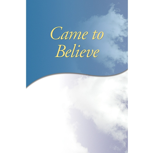 Came to Believe (Large Print Soft Cover)