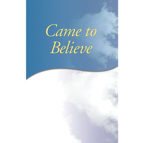 Came to Believe (Soft Cover)